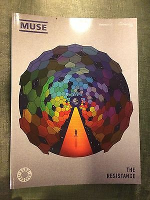 Muse The resistance partition score album guitares piano accords chant