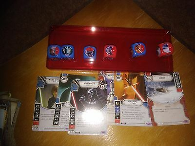 Star Wars Destiny Awakenings czech collection (incl. Vader, Luke and other L)