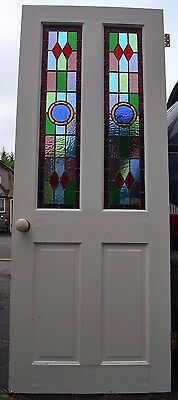 Internal leaded light stained glass internal door. R532. DELIVERY!!!