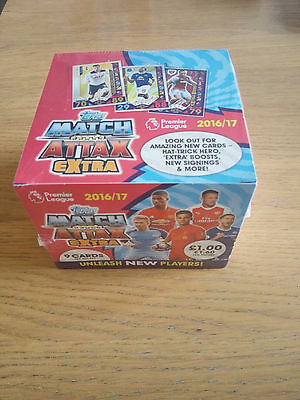 Match Attack Extra 2016/17 Full Sealed Box (50 Packets)