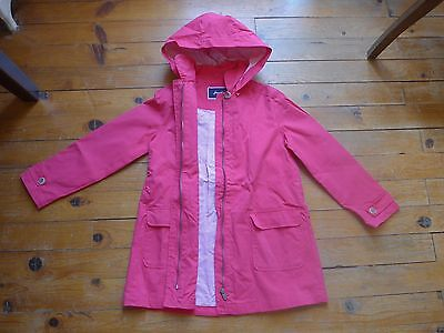 Manteau imperméable trench caban JACADI fille t 10 ans collec 2015 NEUF