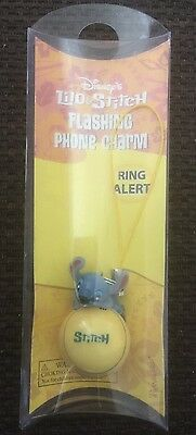 Disneys Lilo and Stitch Flashing Phone Charm In Original Packaging