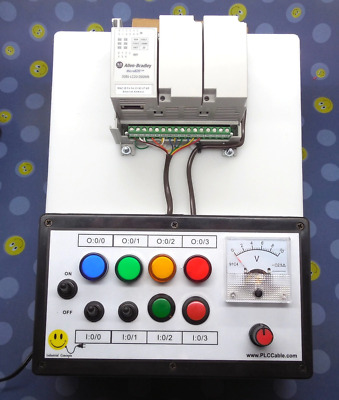 Allen-Bradley Micro820 Programmable CCW PLC Trainer Micro800 Training Kit