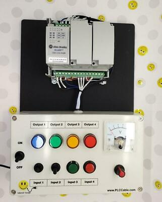 Allen Bradley PLC Training Micrologix Trainer Programming Lessons RSLogix 500