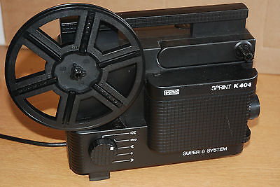 Eumig sprint K404 Super 8 cine film projector - Fully serviced - Fully working