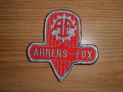 Vintage Ahrens-Fox Fire Apparatus Embroidered Patch