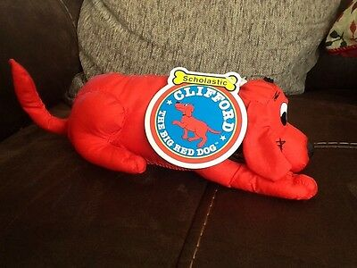 clifford the big red dog soft toy
