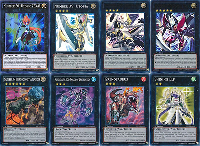 44 Cards Number S0: Utopic ZEXAL Deck| 2017 BEST* Number XYZ/ Utopia Deck Yugioh