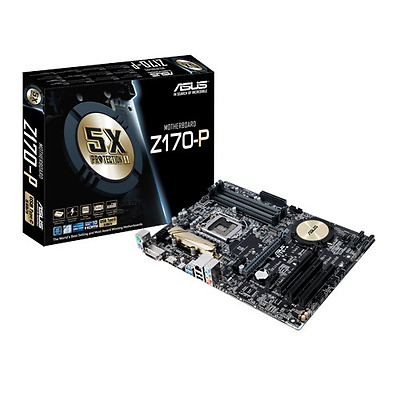 Asus Z170-P Socket 1151 Atx Motherboard Retail Packaged 1 Non-Critical Issue