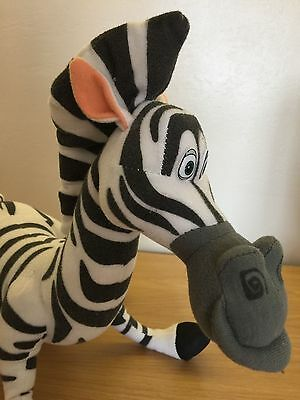 MARTY  The Zebra From MADAGASCAR soft Toy Figure.