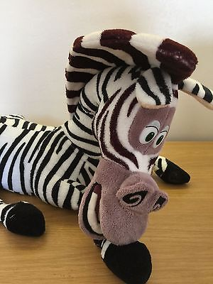 TALKING MARTY The Zebra From MADAGASCAR soft Toy Figure.