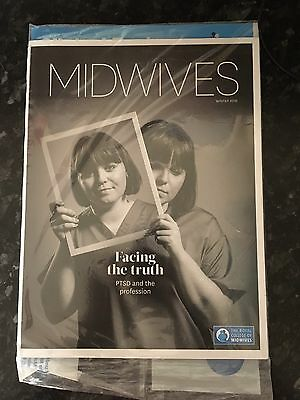 "Midwifery Journal ""MIDWIVES"" RCM Royal College Winter 2016 Edition Brand New"