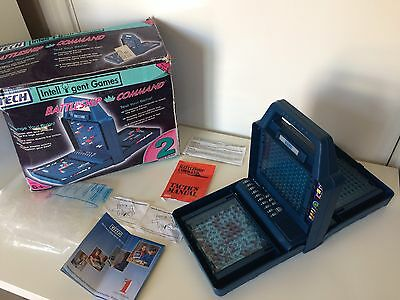 Vintage Retro Vtech Battleship Command Boxed Complete Working w/ Instructions