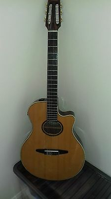 Yamaha Apx-5Na Electro Classical Guitar With Soft Case