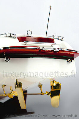 Maquette Riva Aquariva finition Gucci 65 cm - Modelisme Motorisable Wooden Model