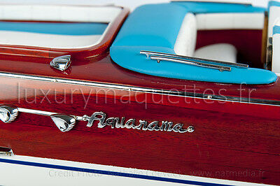 MAQUETTE MODEL Riva AQUARAMA 50 CM - Wooden Model Boat High quality