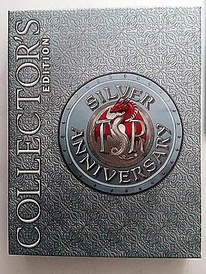Dungeons & Dragons TSR Silver Anniversary Collector's Edition Box Complete