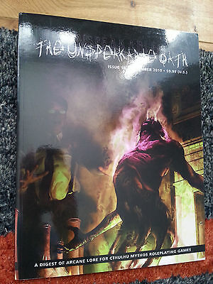 Call of Cthulhu - The Unspeakable Oath magazine No. 18. New condition.