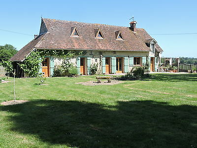 Charming French Rural House with Large Garden, Garage & Land