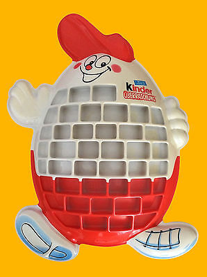 Kinder Surprise Toy Display Wall Stand Kinderino Eiermann Collectors Item RARE