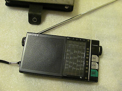 Vintage Japan 80's SONY ICR-4800 MW/SW 6 Band Receiver, Rare