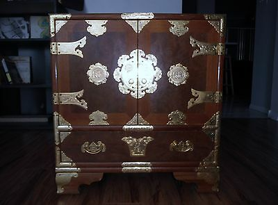 "Korean Personal Chest, 23"" High x 21.5"" Wide x 14"" Deep, Very Nice"