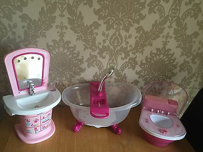 Baby Born - Sounds Sink Toilet & Bath With Lights -