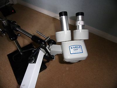 Meiji EMT microscope used