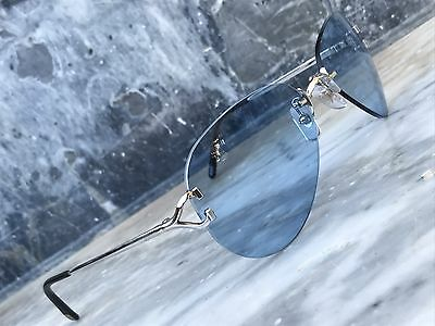 Luxury Cartier Sunglasses C Decor Platinum -Occhiali Brille Lunettes Cartier C
