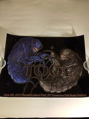 Tool poster Governor's Ball poster a perfect circle 2017 puscifer