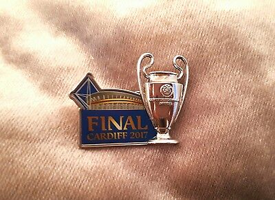 UEFA 2017 Champions League Cup Badge