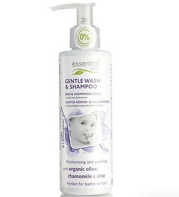 Essential Care Baby Gentle Wash & Shampoo Organic Natural Beautiful Product