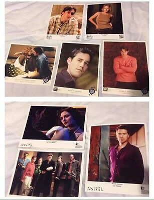 Buffy The Vampire Slayer and Angel Photos 8x10