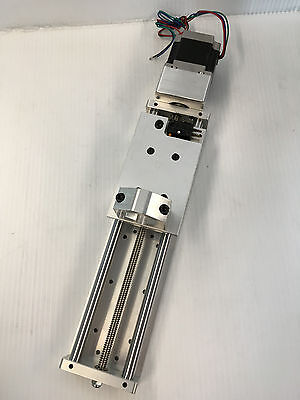 """Z axis CNC Slide + FLOATING PLATE PLASMA + 7"""" travel + HOLDER AND MOTOR INCLUDED"""
