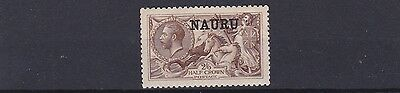 Nauru  1916 - 23     Sg   21    2/6 Brown  Mh  Small Thin