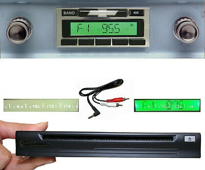 1960-1963 Chevy Truck  Radio + Single Disc CD Changer + USB + AUX Stereo 630