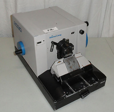 Leica Reichert Jung Biocut 2030 Manual Rotary Microtome & Knife assembly