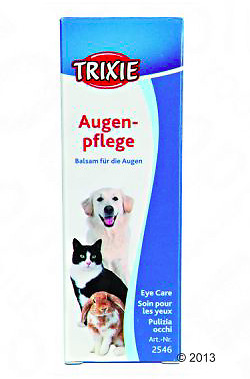 Trixie Gentle Eye Cleaner Cleanser Remove Dirt Dust Dog Cat Small Pet 50ml