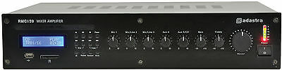 Adastra Rmc120 5 Channel 120W 100V Line Mixer Amplifier Cd/usb/sd/fm 953.141