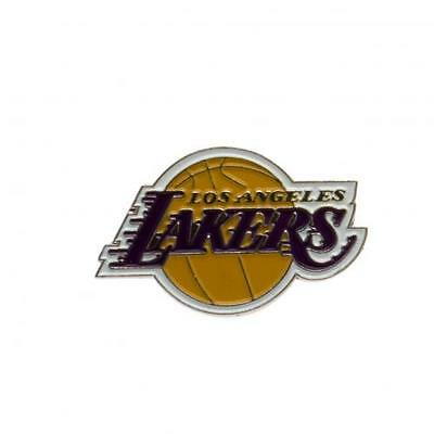 NBA Official Los Angeles Lakers Metal Crest Badge