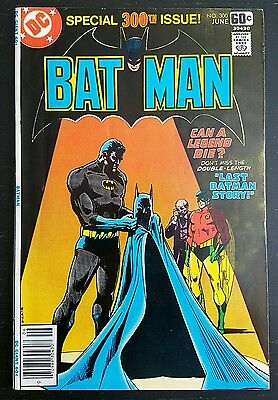 Batman #300 (1978 D.c.) *giant-Sized Special Issue* Vf