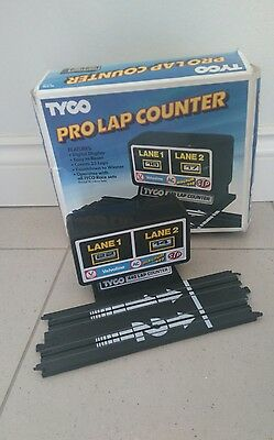 Boxed Tyco Pro Lap Counter - Working Condition.