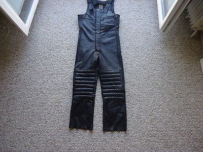 Mens leather motorcycle trousers Size 54EU / 44UK / Large