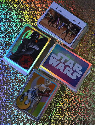 Topps STAR WARS UNIVERSE Sticker Collection FULL Set of 320 Stickers ONLY