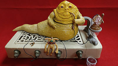 1983 Star Wars Return of the Jedi Jabba the Hutt Action Playset Kenner
