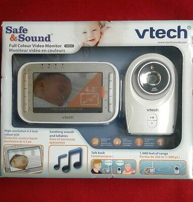 Vtech Safe and Sound Full Colour Video Monitor