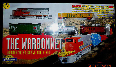 New Old Stock Factory Sealed Athearn The Warbonnet Authentic Ho Scale Train Set