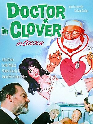 """Doctor in Clover 16"""" x 12"""" Reproduction Movie Poster Photograph"""
