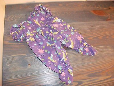 "New Doll Sleeper/romper For  Ag Bitty Baby & Other 15""dolls, Tinkerbell Print"
