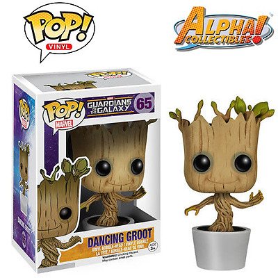 "Funko Pop #65 Funko Marvel Guardians Of The Galaxy ""dancing Groot"""